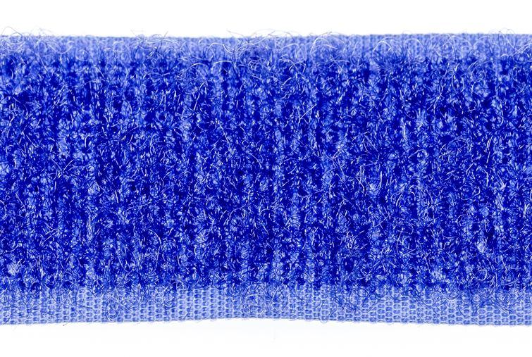opnaaibaar klittenband 50 mm lus koningsblauw