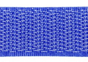 opnaaibaar klittenband 50 mm haak koningsblauw